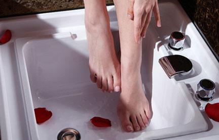 嵌入式洗脚盆