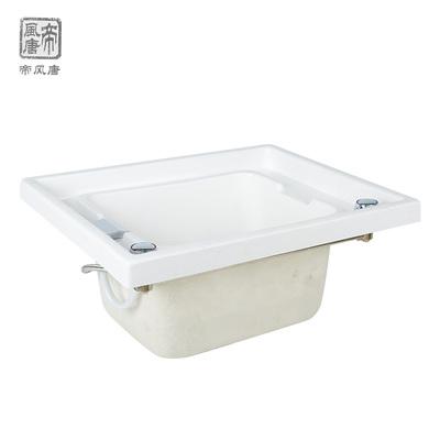无吊沿嵌入式足浴盆