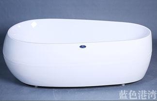 椭圆形亚克力浴缸