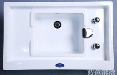亚克力足浴盆856