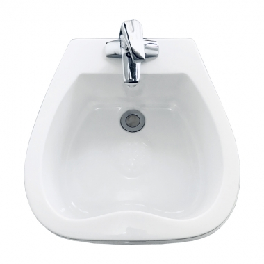 永川心型独立式足浴盆